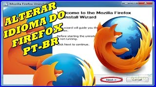 Como Mudar o Idioma Do Mozilla Firefox - Extensões do Firefox