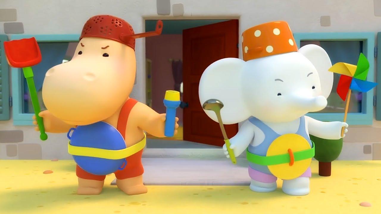 🌈 Тима и Тома – Серия 19 – Микробы атакуют 🦠   Новый комедийный мультик для малышей