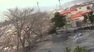 kappa sighting during japan tsunami a strange creature was caught on camera real footage