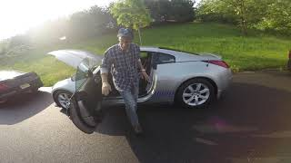 Little Jimmy reviews his new mods on 350z