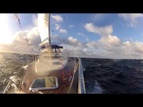 Baltic SEA Sailing 2017 // November //  Ystad - Tejn // 6-8B // 3 - 5m Waves // Sun Odyssey 49 DS