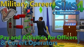 Military Career Guide - The Sims 4 StrangerVille Game Pack