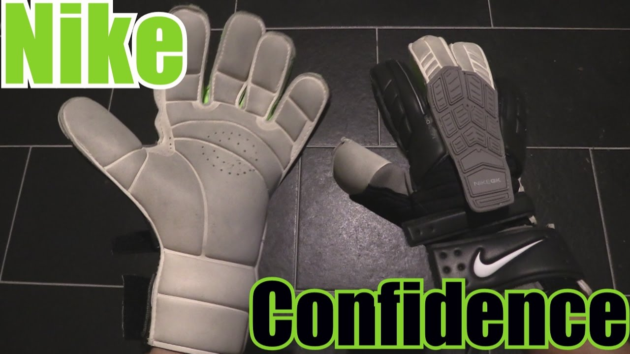 5628af78e Nike Confidence Goalkeeper Gloves Review - YouTube