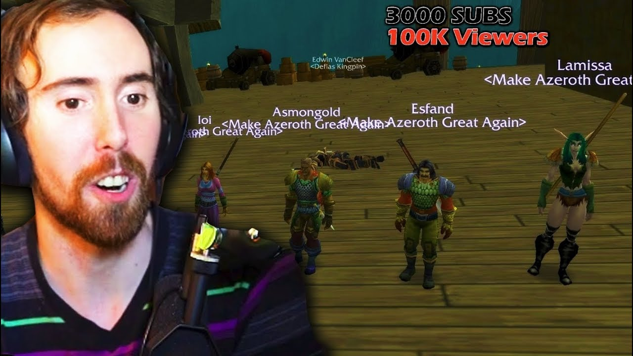 Asmongold World First DEADMINES Clear (WoW Classic Beta