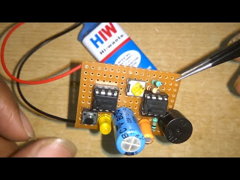 HOW TO MAKE DOORBell using IC 555