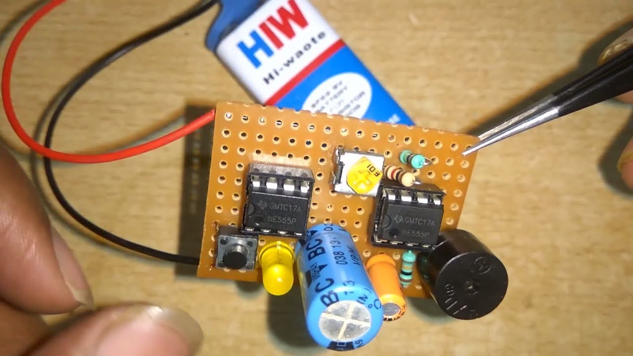 Door Bell Circuit Door Bell Project