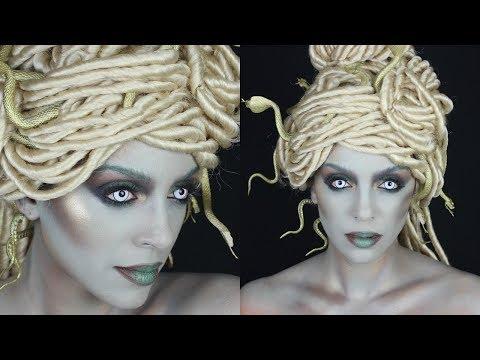 How To Modern Medusa Hair Makeup