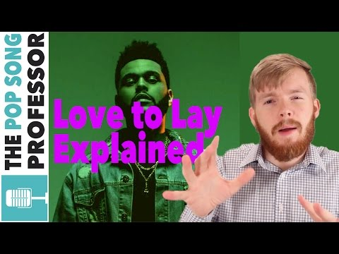 The Weeknd - Love to Lay   Song Lyrics Meaning Explanation Poster