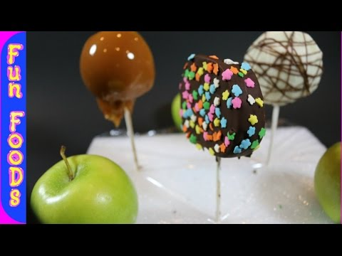 How to Make Candy Apple Slices - FunFoods