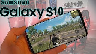 PUBG Mobile - Samsung Galaxy S10 gameplay (High Graphics 60 FPS) Gaming Test