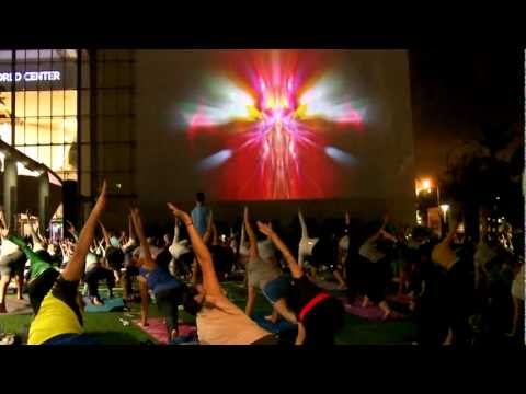 Symphony of Yoga at the New world Center
