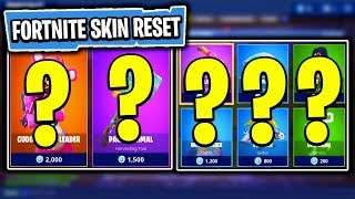 The NEW Daily Skin Items In Fortnite: Battle Royale! (Skin Reset #8)