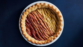 Apple Ombré Pie | NYT Cooking