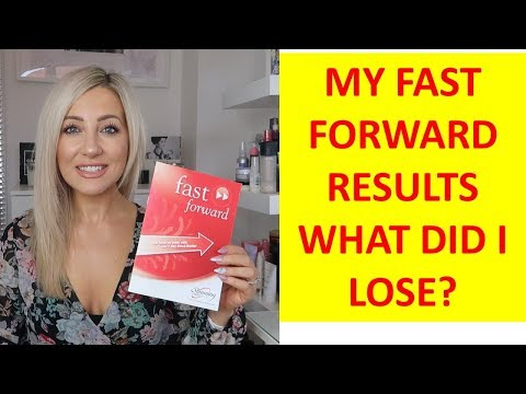 **My Weight Loss Result's On Slimming World's Fast Forward**