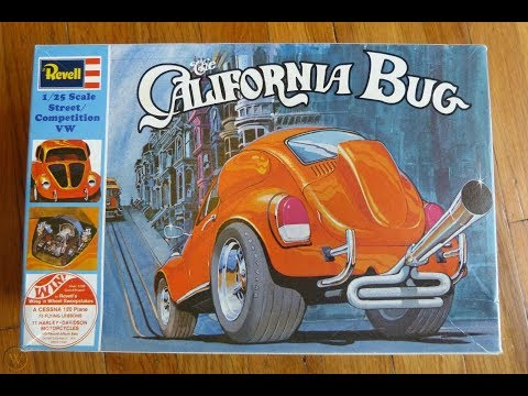 Revell The California Bug Review @ SMKR
