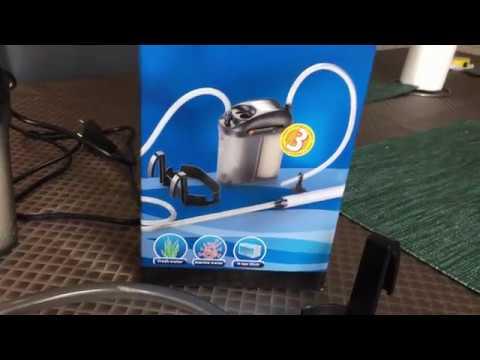 TEST Aspirateur Aquarium EDEN 501 Gravel Cleaner Et Avis