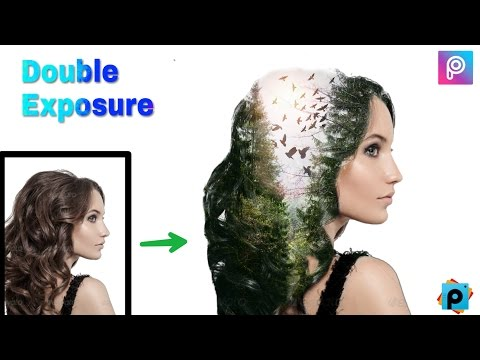 Best Double Exposure Photo Editing || Picsart Photo Editing Tutorial || double exposure picsart 2017