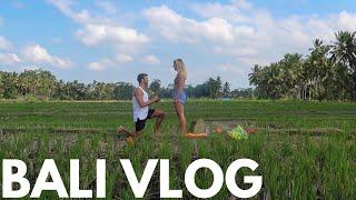 SHE SAID YES | Bali Vlog.... BEST TRIP EVER