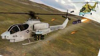 حربية طائرات الهليكوبتر المعركة:العاب طائرات الهليكوبتر-محاكي معركة2019-أفضل ألعاب أندرويد screenshot 2