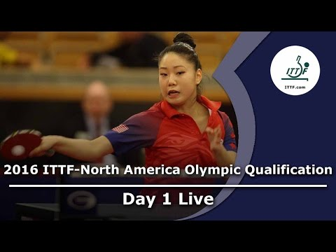 2016 ITTF-North America Olympic Qualification Tournament Day 1
