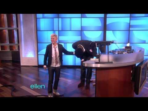 Tony Falls for Ellen!