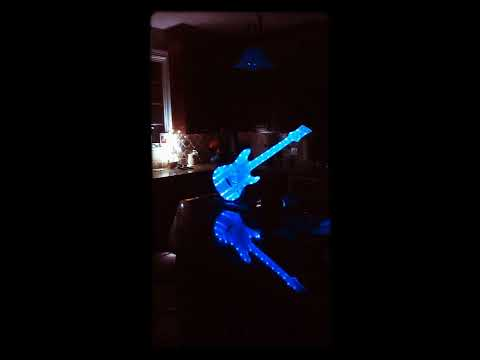 Epoxy guitar .nice project.