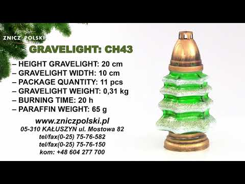 candle ceremonial Christmas tree CH43 GOLD CHRISTMAS - GARDEN GLASS ON POSTAGE