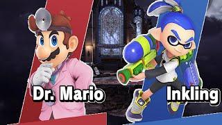 Dr. Mario vs. Inkling (Super Smash Bros. Ultimate)