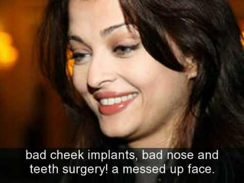 Aishwary Rai Plastic Surgery Gone Wrong Youtube