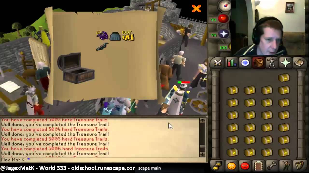 Loot From 5000 Hard Clue Scroll Caskets Youtube
