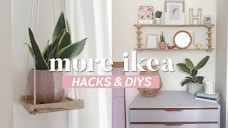 More IKEA Hacks and DIYs | Easy and Inexpensive Room Decor Ideas 2019