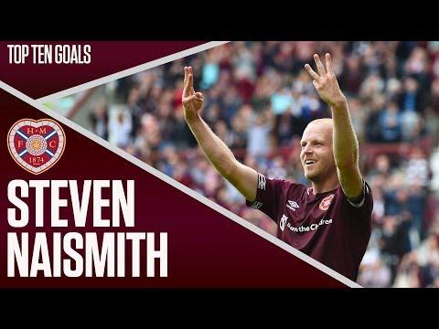 Steven Naismith | Top Ten Hearts Goals | Star Player!