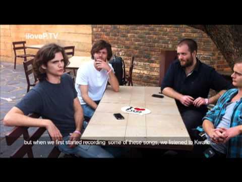 KONGOS interview @ Park Acoustics, Pretoria.mov