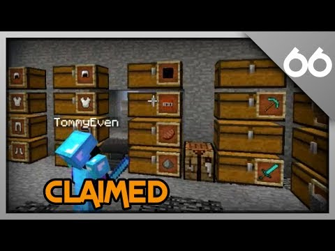 Minecraft Raiding #66 - Massive Claimed Base!
