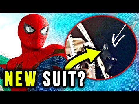 SpiderMan Far From Home STEALTH SUIT Revealed?! Jake Gyllenhaal Talks SpiderMan!