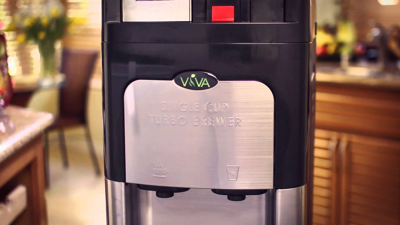 Viva Single Cup Coffee Maker Water Cooler Youtube