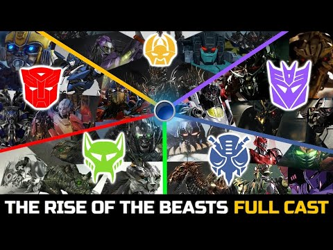 Download Transformers Rise Of The Beasts (2022) Confirmed Official Robot Cast And Upcoming Characters