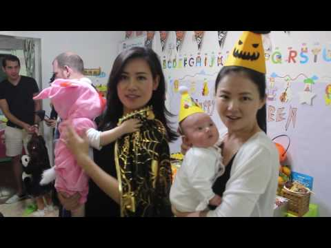 Baby Halloween Party in China
