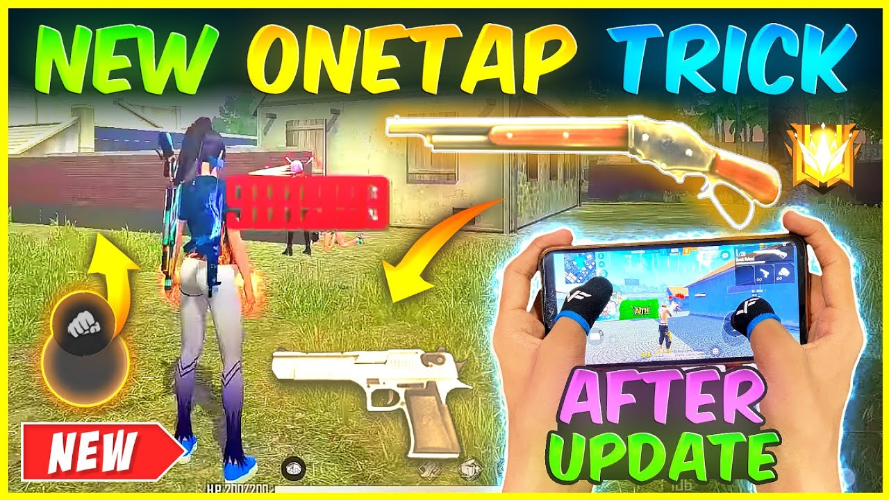 Download After Update | New One Tap Headshot Trick 🔥| Secret One Tap Headshot Setting |-Garena Free Fire