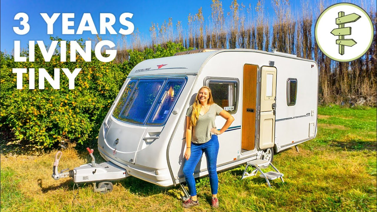 Low-Cost Living in a TINY Camper for 3 Years
