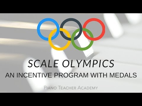 Scale Olympics: An Incentive Program for Music Students for Mastering Scales