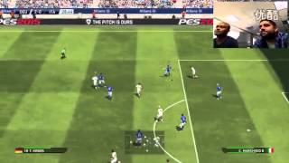 PES 2015  GERMANY VS ITALY