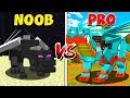 Minecraft NOOB vs PRO: DRAGONS in MINECRAFT!
