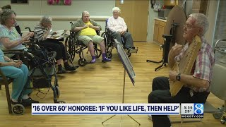 '16 over 60' honoree: 'If you like life, then help'