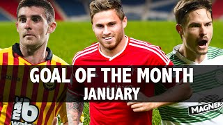 Goal of the Month // January