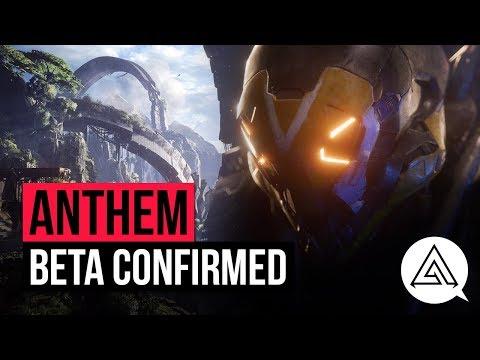 Anthem News   Beta Confirmed & Future Updates