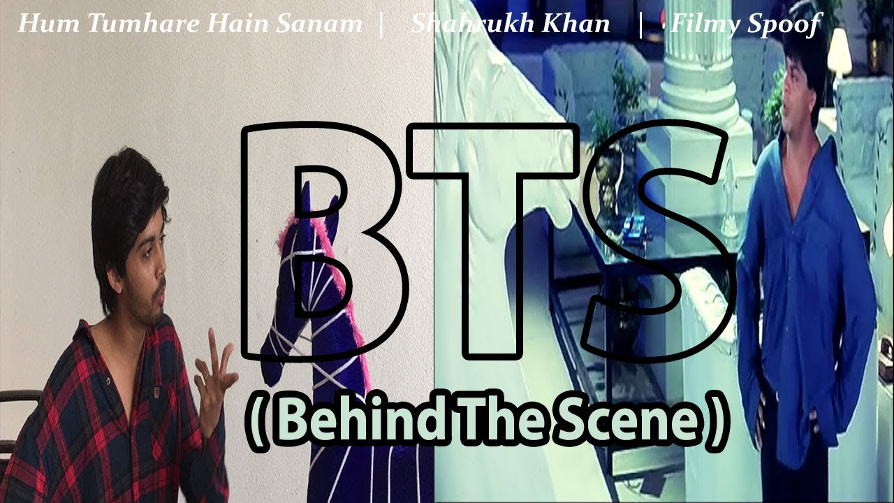 Behind the scenes of Hum Tumhare Hain Sanam | Filmy Spoof