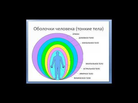 Тонкие тела человека(оболочки), их строение и функции