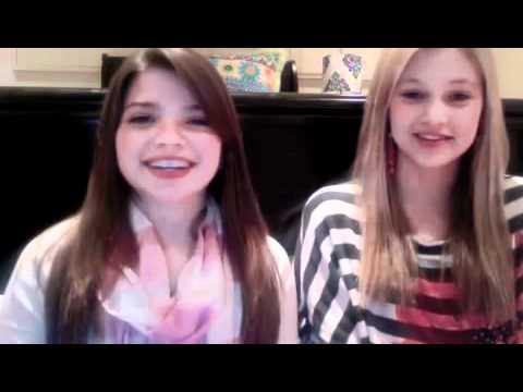 Olivia Holt and Jadin Gould  Doing bestfriend Tags! part 1