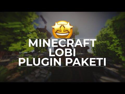 Minecraft Lobi Plugin Paketi + Harita (BEDAVA)